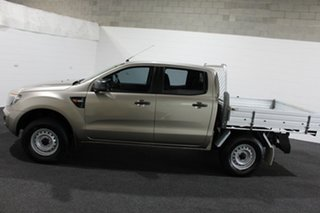 2015 Ford Ranger PX XL Double Cab Bronze 6 Speed Manual Cab Chassis