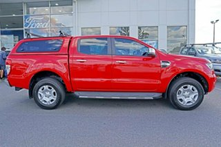 2017 Ford Ranger PX MkII XLT Double Cab Red 6 Speed Manual Utility