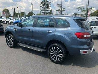 2018 Ford Everest UA II 2019.00MY Titanium 4WD Blue 10 Speed Sports Automatic Wagon