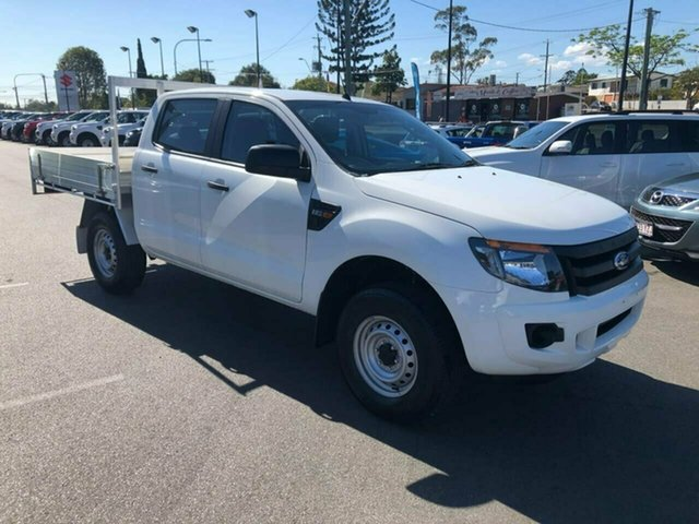 Used Ford Ranger PX XL Double Cab 4x2 Hi-Rider, 2015 Ford Ranger PX XL Double Cab 4x2 Hi-Rider White 6 Speed Sports Automatic Utility