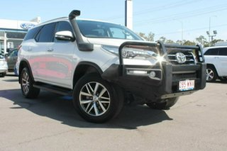 2015 Toyota Fortuner GUN156R Crusade White 6 Speed Automatic Wagon.