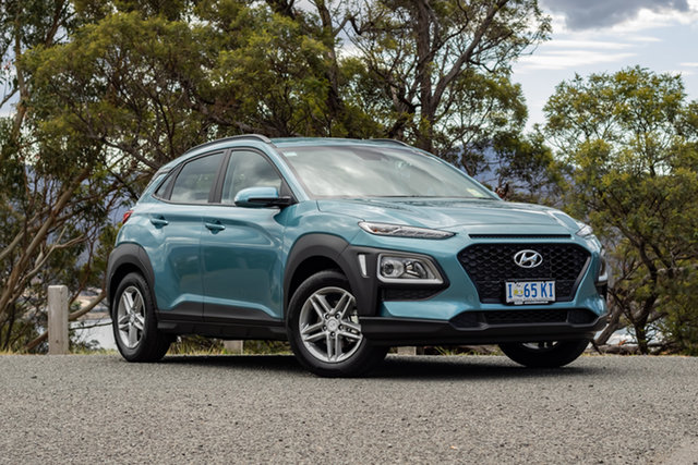 Demo Hyundai Kona OS.3 MY20 Active 2WD, 2019 Hyundai Kona OS.3 MY20 Active 2WD Ceramic Blue 6 Speed Sports Automatic Wagon