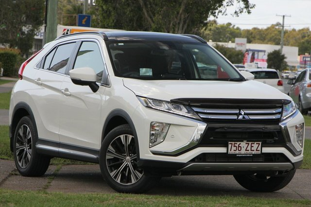 Used Mitsubishi Eclipse Cross YA MY18 Exceed 2WD, 2018 Mitsubishi Eclipse Cross YA MY18 Exceed 2WD White 8 Speed Constant Variable Wagon