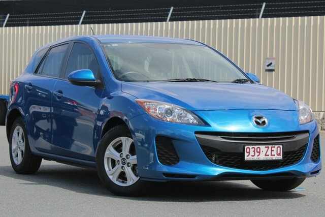 Used Mazda 3 BL10F2 MY13 Neo Activematic, 2012 Mazda 3 BL10F2 MY13 Neo Activematic Sky Blue 5 Speed Sports Automatic Hatchback
