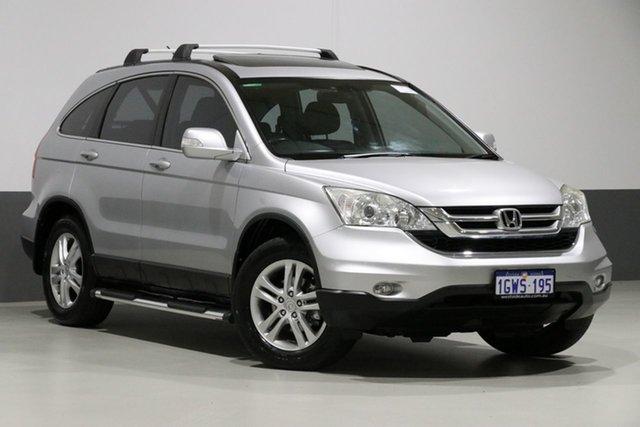 Used Honda CR-V MY11 (4x4) Luxury, 2011 Honda CR-V MY11 (4x4) Luxury Silver 5 Speed Automatic Wagon