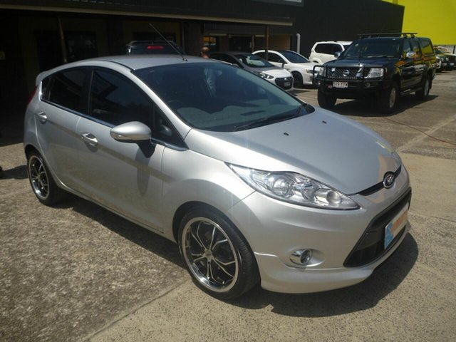 Used Ford Fiesta WT Zetec Morayfield, 2010 Ford Fiesta WT Zetec Silver 5 Speed Manual Hatchback