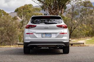 2018 Hyundai Tucson TL3 MY19 Highlander D-CT AWD Platinum Silver 7 Speed