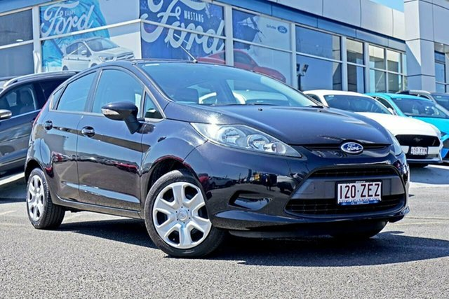 Used Ford Fiesta WS CL, 2009 Ford Fiesta WS CL Black 5 Speed Manual Hatchback