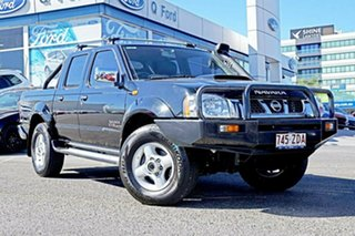 2011 Nissan Navara D22 S5 ST-R Black 5 Speed Manual Utility.