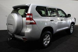 2016 Toyota Landcruiser Prado GDJ150R GX Silver 6 Speed Sports Automatic Wagon.