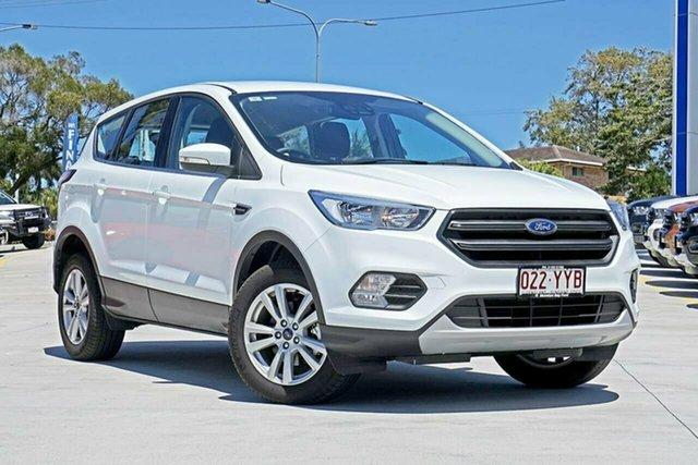 Used Ford Escape ZG 2019.25MY Ambiente 2WD, 2018 Ford Escape ZG 2019.25MY Ambiente 2WD Frozen White 6 Speed Sports Automatic Wagon