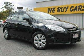 2013 Ford Focus LW MkII Ambiente Black 5 Speed Manual Hatchback.