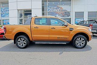2018 Ford Ranger PX MkIII 2019.00MY Wildtrak Pick-up Double Cab Saber 6 Speed Sports Automatic