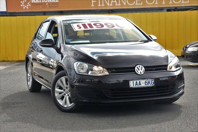 Used Volkswagen Golf AU 90 TSI Comfortline, 2013 Volkswagen Golf AU 90 TSI Comfortline Black 7 Speed Auto Direct Shift Hatchback