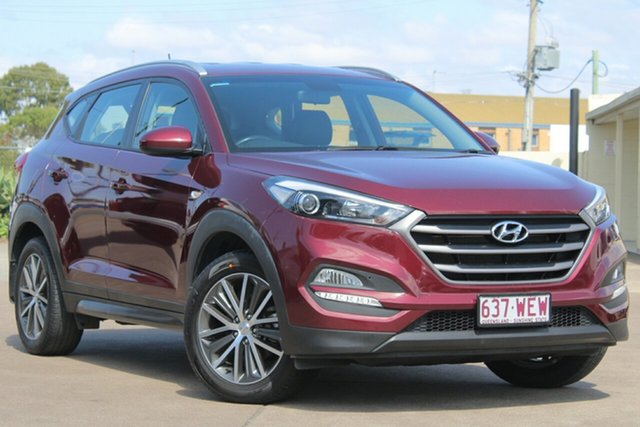 Used Hyundai Tucson TL Active X 2WD, 2015 Hyundai Tucson TL Active X 2WD Red 6 Speed Sports Automatic Wagon