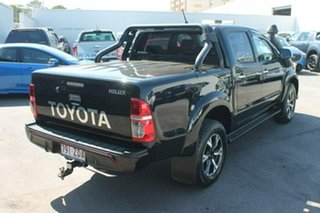 2014 Toyota Hilux KUN26R MY14 Black Double Cab Limited Edition Black 5 Speed Manual Utility