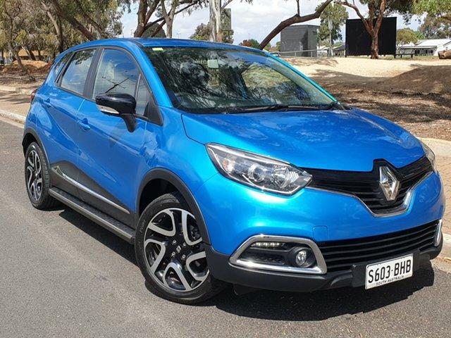 Used Renault Captur J87 Expression EDC, 2015 Renault Captur J87 Expression EDC Riviera Blue & Diamond Black 6 Speed
