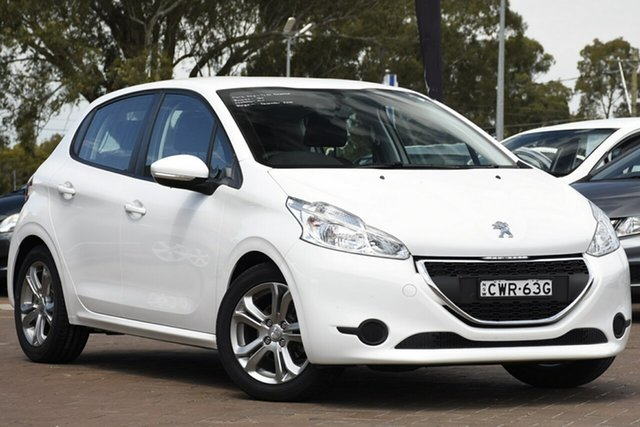 Used Peugeot 208 A9 MY13 Active, 2014 Peugeot 208 A9 MY13 Active White 4 Speed Automatic Hatchback