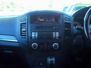 2013 Mitsubishi Pajero NW MY14 GLX-R Black 5 Speed Sports Automatic Wagon