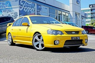 2005 Ford Performance Vehicles GT-P BA Mk II Yellow 4 Speed Sports Automatic Sedan.