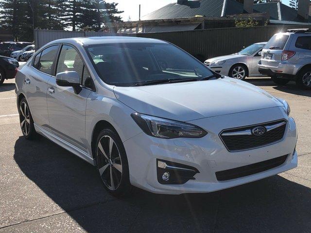 New Subaru Impreza G5 MY19 2.0i-S CVT AWD, 2019 Subaru Impreza G5 MY19 2.0i-S CVT AWD Crystal White Pearl 7 Speed Constant Variable Sedan