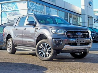 2018 Ford Ranger PX MkIII 2019.00MY Wildtrak Pick-up Double Cab Magnetic 10 Speed Sports Automatic.