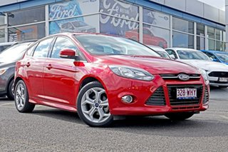 2014 Ford Focus LW MkII Sport PwrShift Red 6 Speed Sports Automatic Dual Clutch Hatchback.