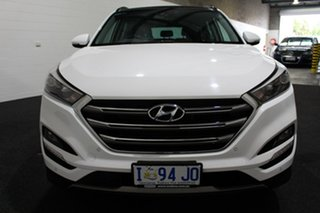 2015 Hyundai Tucson TLE Highlander D-CT AWD White 7 Speed Sports Automatic Dual Clutch Wagon
