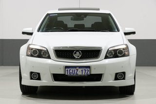 2013 Holden Caprice WN V White 6 Speed Auto Active Sequential Sedan.