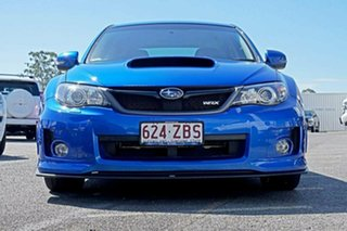 2013 Subaru WRX V1 MY15 AWD Blue 6 Speed Manual Sedan.
