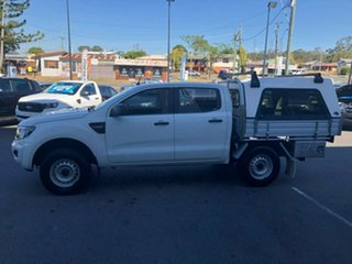 2015 Ford Ranger PX XL Double Cab 4x2 Hi-Rider White 6 Speed Sports Automatic Utility