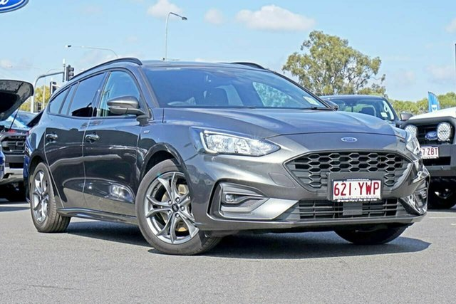 Used Ford Focus SA 2019.25MY ST-Line, 2018 Ford Focus SA 2019.25MY ST-Line Magnetic 8 Speed Automatic Wagon