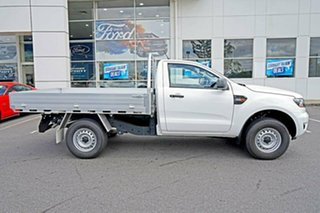 2018 Ford Ranger PX MkIII 2019.00MY XL Super Cab 4x2 Hi-Rider Frozen White 6 Speed Sports Automatic
