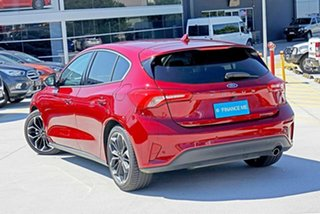 2018 Ford Focus SA 2019MY Titanium Ruby Red 8 Speed Automatic Hatchback.