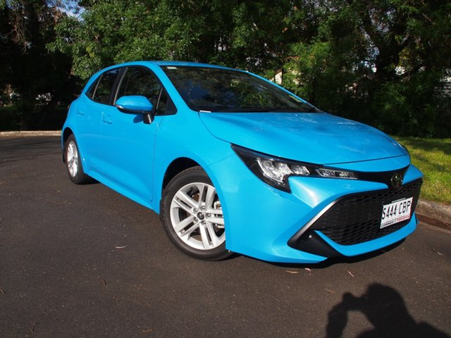 Demo Toyota Corolla Mzea12R Ascent Sport, 2019 Toyota Corolla Mzea12R Ascent Sport Eclectic Blue 10 Speed Constant Variable Hatchback