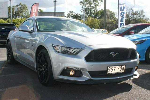 Used Ford Mustang FM 2017MY GT Fastback SelectShift, 2017 Ford Mustang FM 2017MY GT Fastback SelectShift Silver 6 Speed Sports Automatic Fastback