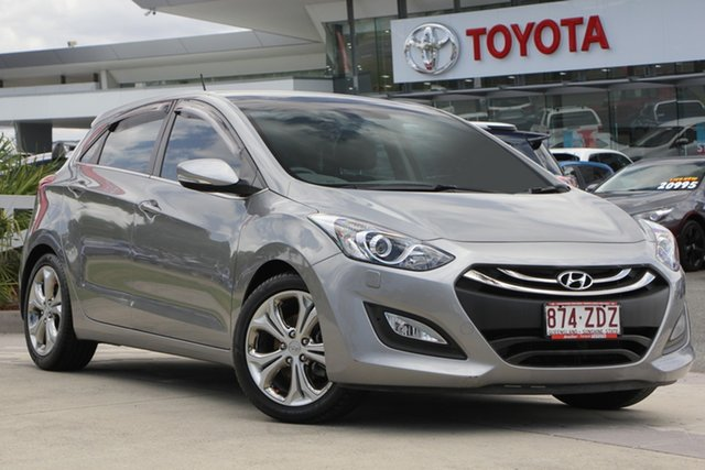 Used Hyundai i30 GD MY14 Premium, 2013 Hyundai i30 GD MY14 Premium Silver 6 Speed Sports Automatic Hatchback