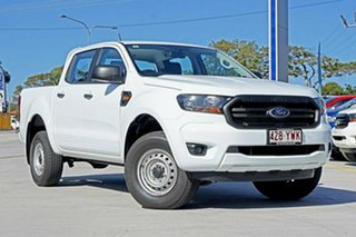 2018 Ford Ranger PX MkIII 2019.00MY XL Pick-up Double Cab White 6 Speed Manual Utility.