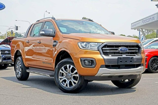Used Ford Ranger PX MkIII 2019.00MY Wildtrak Pick-up Double Cab, 2018 Ford Ranger PX MkIII 2019.00MY Wildtrak Pick-up Double Cab Saber 6 Speed Sports Automatic