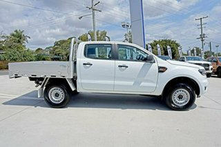 2018 Ford Ranger PX MkIII 2019.00MY XL Double Cab Frozen White 6 Speed Sports Automatic Cab Chassis