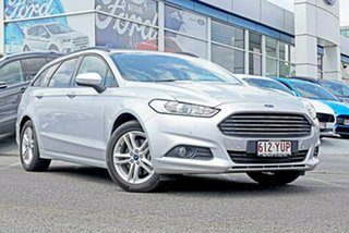 2017 Ford Mondeo MD 2018.25MY Ambiente PwrShift Silver 6 Speed Sports Automatic Dual Clutch Wagon.