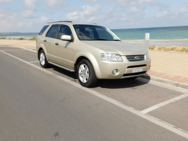 Used Ford Territory SY Ghia, 2005 Ford Territory SY Ghia Gold 4 Speed Sports Automatic Wagon