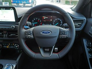 2018 Ford Focus SA 2019MY ST-Line Ruby Red 8 Speed Automatic Hatchback