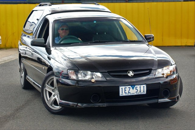 Used Holden Commodore VY II Storm, 2004 Holden Commodore VY II Storm Black 4 Speed Automatic Utility