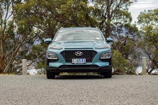 2019 Hyundai Kona OS.3 MY20 Active 2WD Ceramic Blue 6 Speed Sports Automatic Wagon.