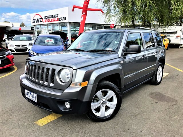 Used Jeep Patriot MK MY14 Limited, 2013 Jeep Patriot MK MY14 Limited Grey 6 Speed Sports Automatic Wagon