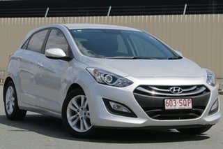 2012 Hyundai i30 GD Elite Silver 6 Speed Sports Automatic Hatchback.