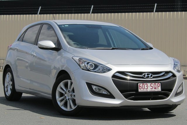 Used Hyundai i30 GD Elite, 2012 Hyundai i30 GD Elite Silver 6 Speed Sports Automatic Hatchback