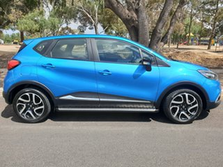 2015 Renault Captur J87 Expression EDC Riviera Blue 6 Speed Sports Automatic Dual Clutch Hatchback.