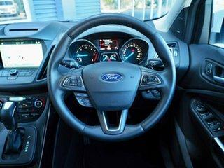 2017 Ford Escape ZG 2018.00MY Titanium PwrShift AWD White Platinum 6 Speed